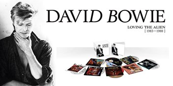 New David Bowie box set Loving The Alien set for October release