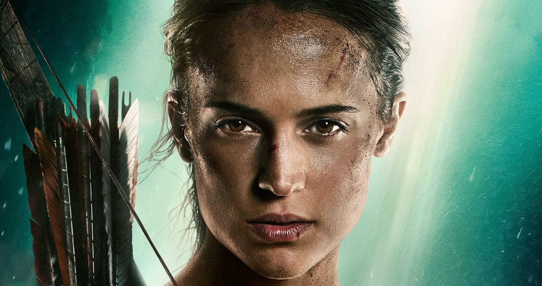 Tomb Raider heading for Number 1 on the UK DVD Chart