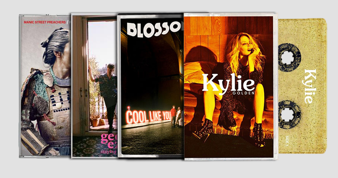Kylie leads Official Top 20 best-selling cassettes of 2018
