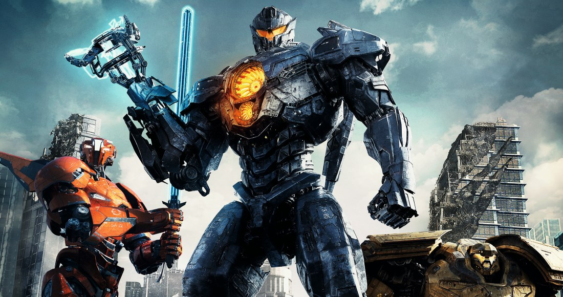 Pacific Rim: Uprising contending for Number 1 on the UK's DVD chart
