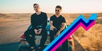 Loud Luxury's Body climbs to Number 1 on the UK's Official Trending Chart