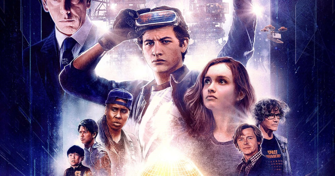Ready Player One blasting to Number 1 on the Official Video Chart
