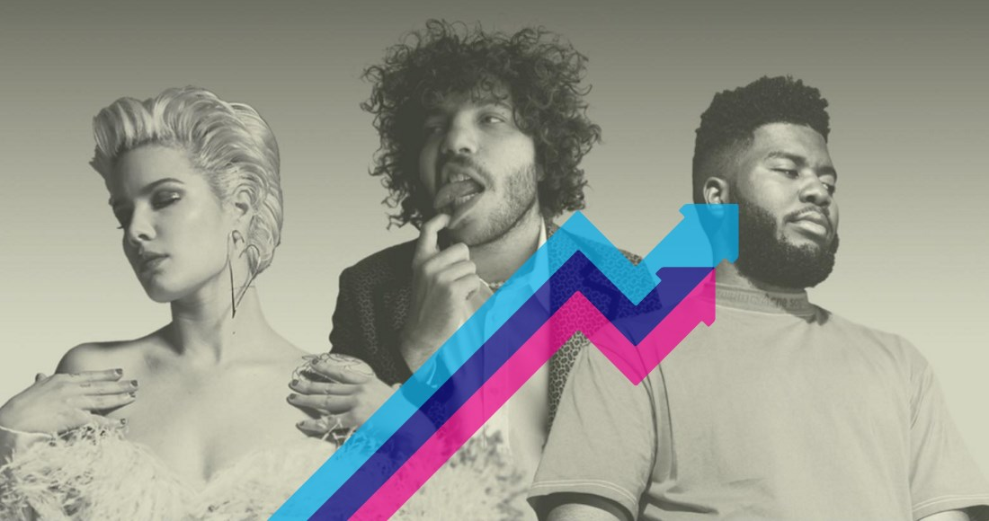 Benny Blanco's Eastside climbs to Official Trending Chart Number 1