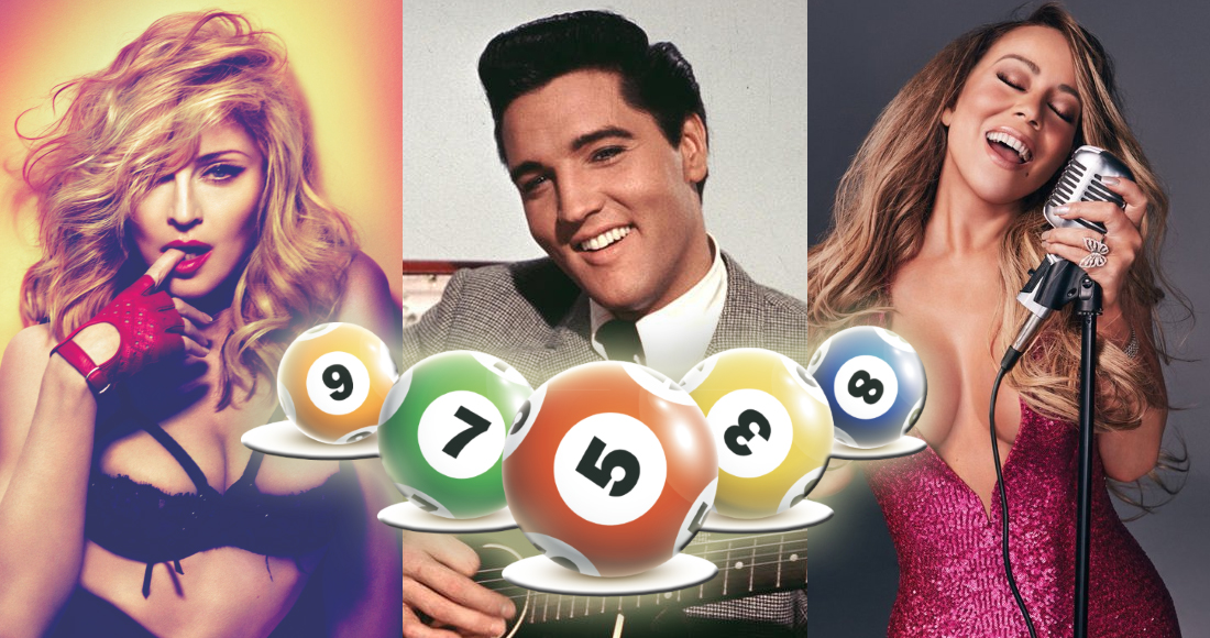 BINGO! Acts who have peaked at every position in the Top 10
