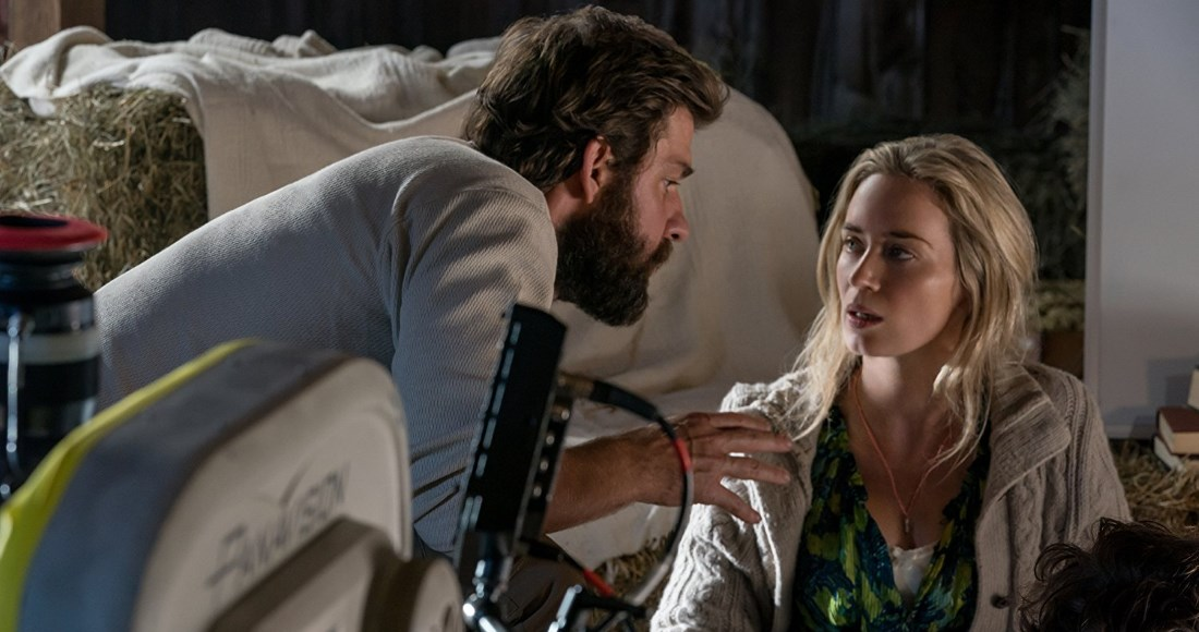 A Quiet Place starring Emily Blunt and John Krasinksi scaring its way to Number 1 on the Official Video Chart