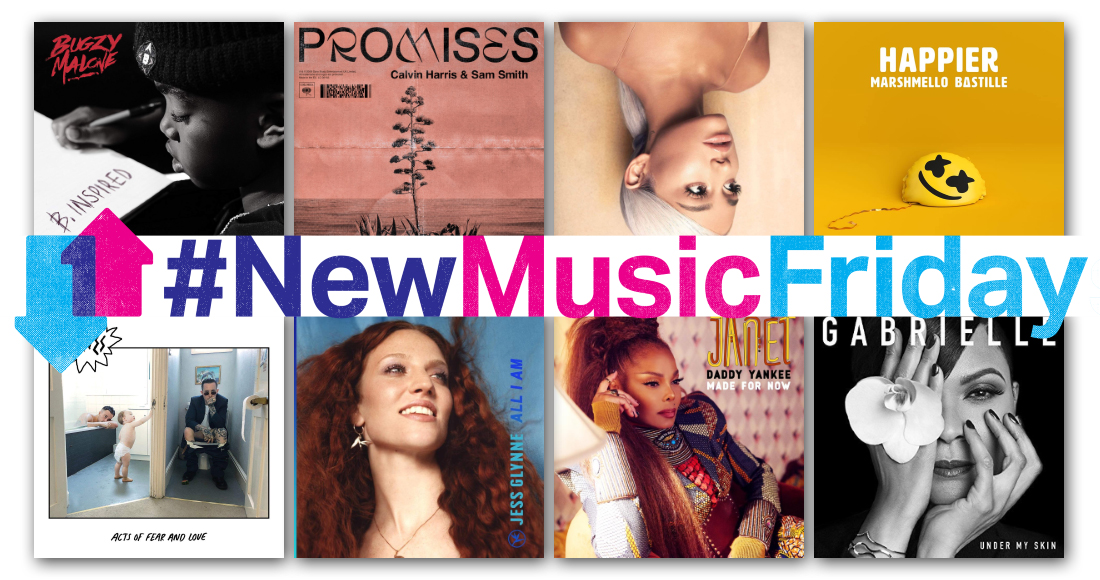 This week's new releases: Ariana Grande, Calvin Harris & Sam Smith, Janet Jackson