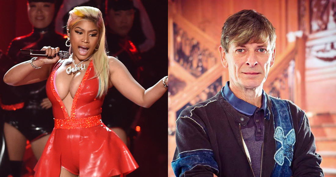 Nicki Minaj and Sean Keane among new entries on Irish Albums Chart