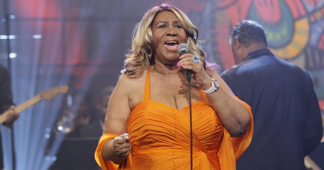 Aretha Franklin's music floods back into the Official UK Charts