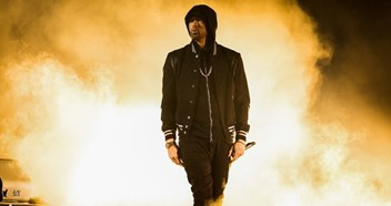 Eminem flying to a record-breaking ninth UK Number 1 album with Kamikaze