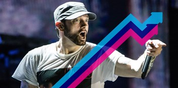 Eminem's The Ringer enters the Official Trending Chart at Number 1 after surprise Kamikaze album release