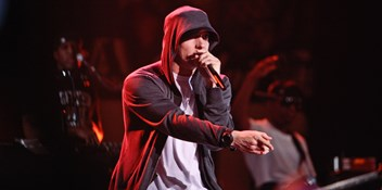Eminem's Top 10 biggest albums on the Official Chart