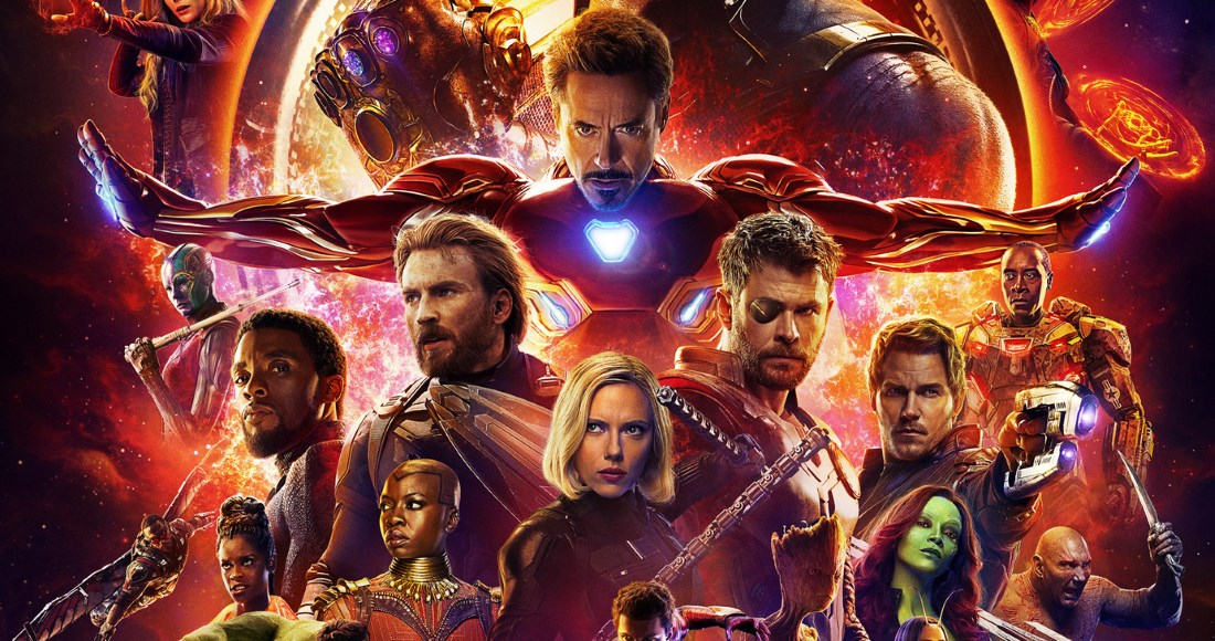 Avengers: Infinity War outselling the Top 40 combined on the DVD chart