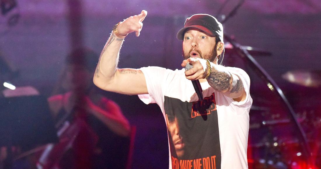 Eminem scores eighth Irish Number 1 album with Kamikaze