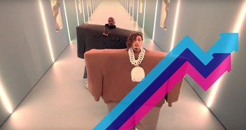Kanye West and Lil Pump's I Love It is the UK's Number 1 trending song