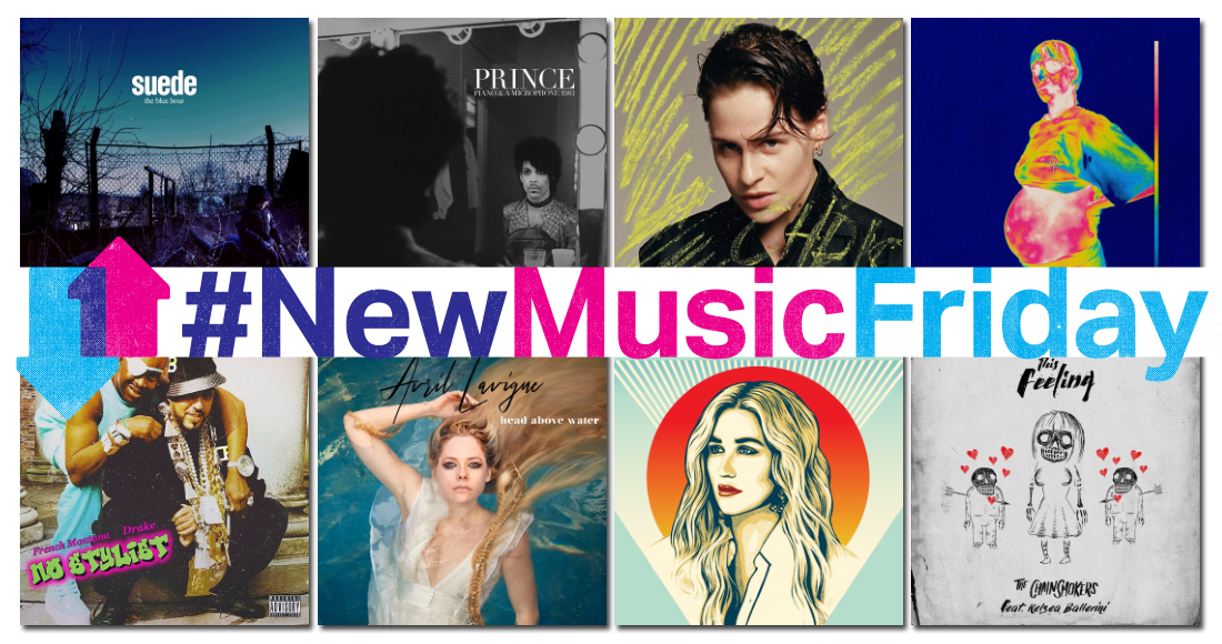 This week's new releases: Rita Ora, Prince, Christine and the Queens, Mumford & Sons, more
