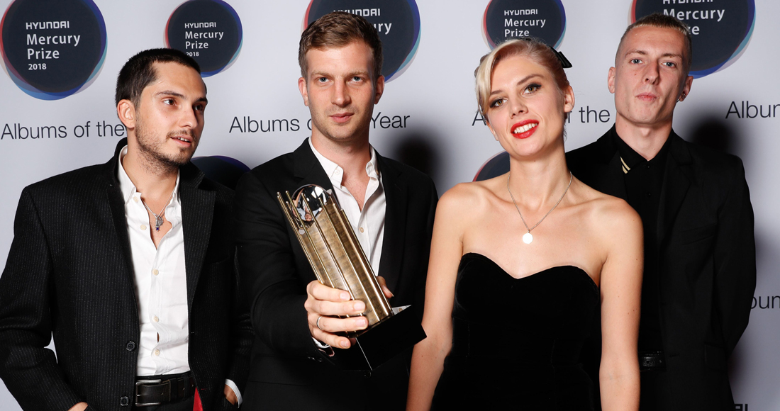 Wolf Alice win Mercury Prize 2018 for Visions Of A Life