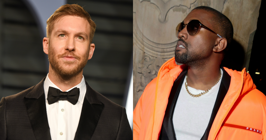 Kanye West edges in on Calvin Harris & Sam Smith for Irish Number 1