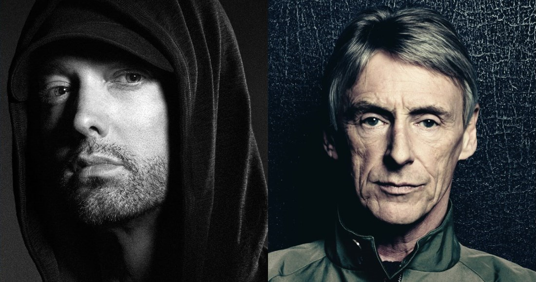 Eminem fends off Paul Weller to claim a third week at Albums Number 1