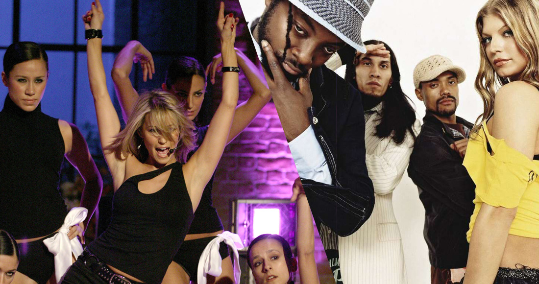 Official Charts Flashback: Rachel Stevens vs. Black Eyed Peas for Number 1