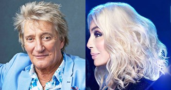 Pop legends Rod Stewart and Cher duke it out for Number 1 album