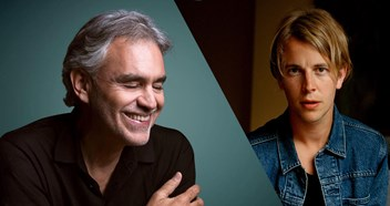 Andrea Bocelli and Tom Odell are battling it out for this week's Number 1 album