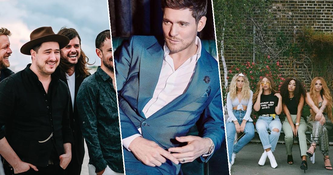 Michael Bublé Little Mix Mumford Battle For Number 1 Album