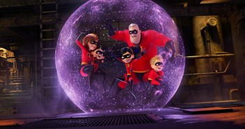 Incredibles 2 stretches its lead for a second week at the top of the Official Film Chart