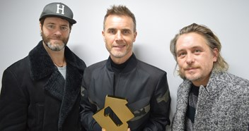 Take That score the fastest selling artist album of 2018 as Odyssey shifts over 100,000 copies