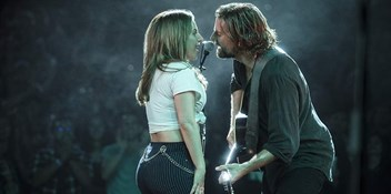 A Star Is Born takes centre stage as it debuts at Number 1 on the Official Film Chart