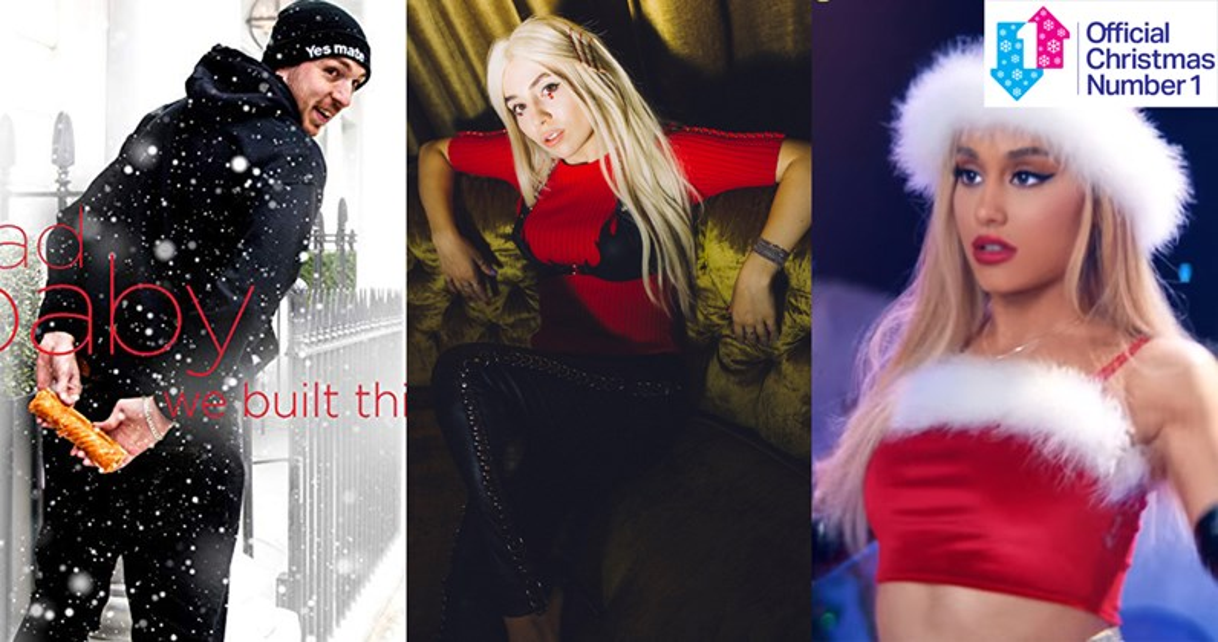 Ava Max vs  LadBaby vs  Ariana Grande for Christmas Number 1