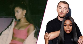 Sam Smith & Normani take on Ariana Grande for the UK's Number 1 single