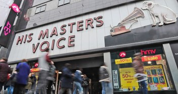 HMV rescued from administration by Canadian firm Sunrise Records and entrepreneur Doug Putman