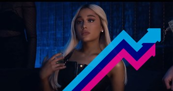 Ariana Grande's Break Up With Your Girlfriend, I'm Bored debuts at Number 1 on the Official Trending Chart