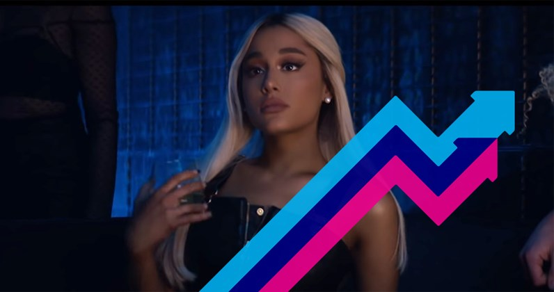 Dump Ur Girlfriend Im Bored: Ariana Grande Could Pull Off A Rare Chart Feat This Week