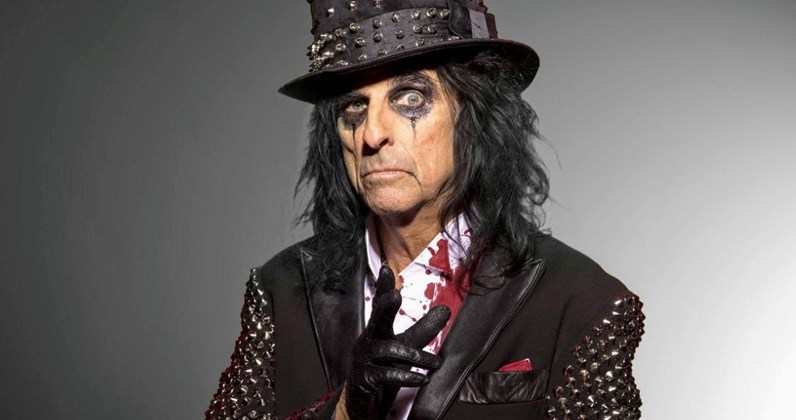 Alice Cooper complete UK singles and albums chart history