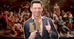 Hugh Jackman celebrates Greatest Showman chart success