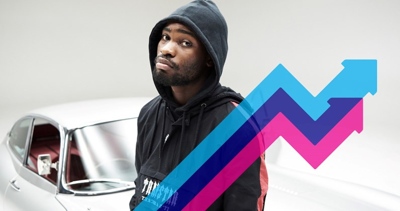 Dave's Location hits Number 1 on the Official Trending Chart