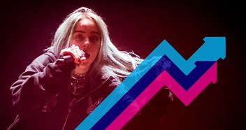 Billie Eilish's Bad Guy debuts at Number 1 on the Official Trending Chart