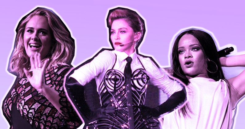 Every Number 1 album by a female solo artist