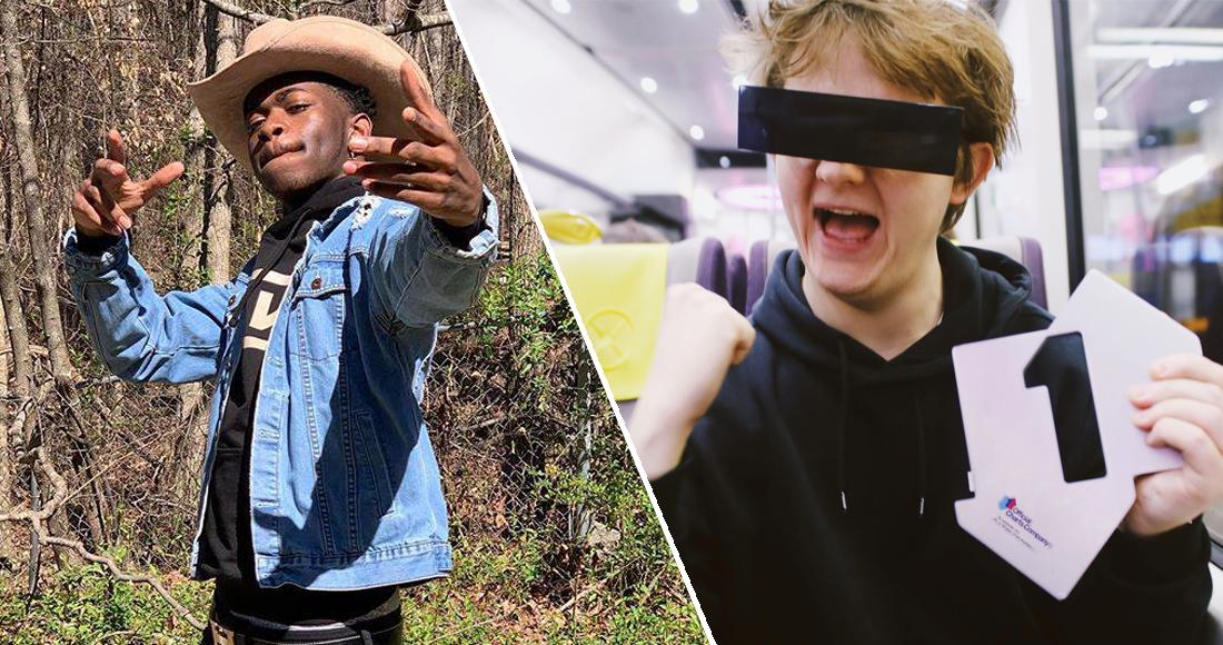 Lewis Capaldi denies Lil Nas X this week's Number 1 single