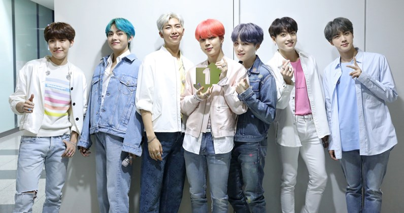 BTS are the first Korean act to score a Number 1 on the Official Albums Chart with Map of The Soul: Persona