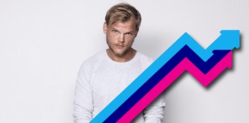 Avicii's posthumous single SOS featuring Aloe Blacc is Number 1 on the UK's Official Trending Chart