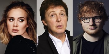 Adele, Ed Sheeran and Paul McCartney among the UK's richest musicians as Sunday Times releases its 2019 Rich List