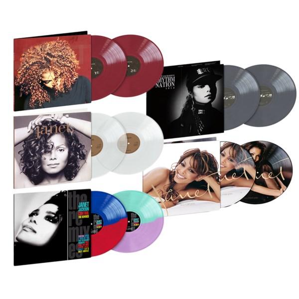 Win six Janet Jackson vinyl reissues