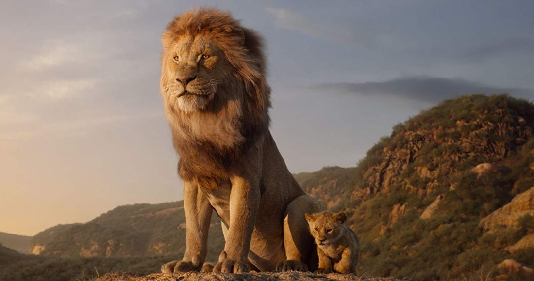 The Lion King roars victorious for a second week at the top of the Official Film Chart