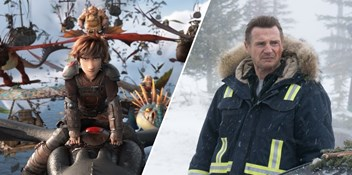 How To Train Your Dragon: The Hidden World fends off Liam Neeson's Cold Pursuit to keep Official Film Chart top spot
