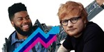 Ed Sheeran and Khalid claim Official Trending Chart Number 1