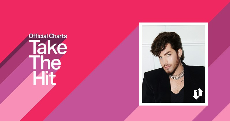Official Charts: Take The Hit podcast returns with Adam Lambert