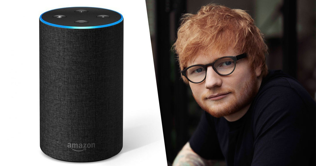 Ed Sheeran teams up with Amazon's Alexa on Number 1 single I Don't Care