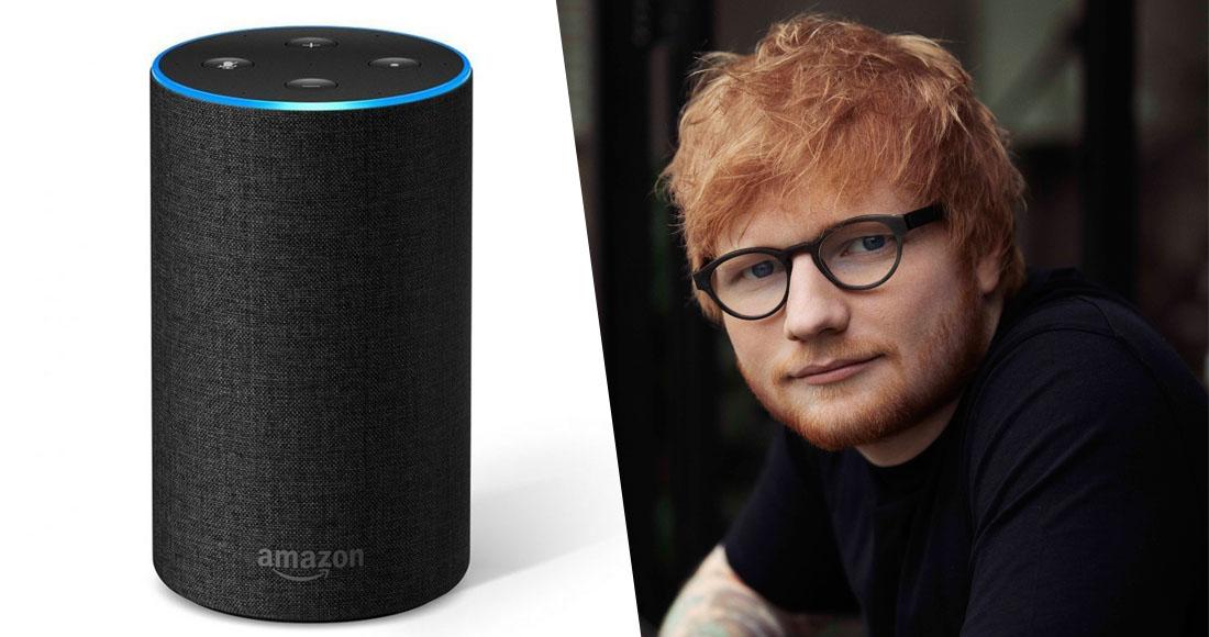 Listen to Ed Sheeran collaborate with Amazon's Alexa